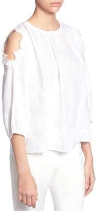 Catherine Malandrino Priya Cold Shoulder Top