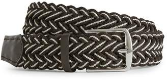 Reiss PILCHER WOVEN BELT Brown