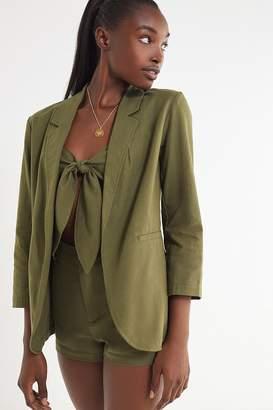 Urban Outfitters Linen Blazer