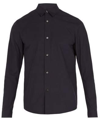 A.P.C. Cotton Poplin Shirt - Mens - Navy