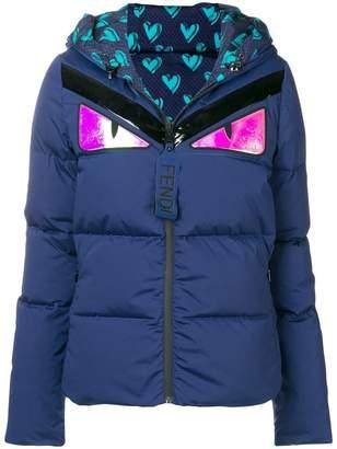 Fendi Bag Bugs padded jacket