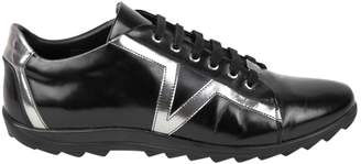 Versace Black Patent leather Trainers