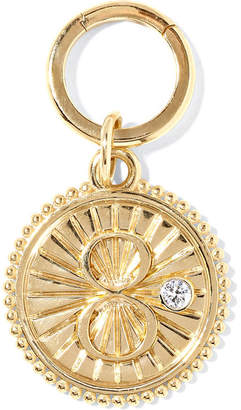 Foundrae - Karma 18-karat Gold Diamond Pendant