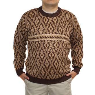 Blend of America CELITAS DESIGN Sweater baby alpaca and jack rombo made in PERU S