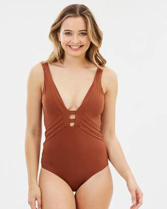 Jets Plunge One-Piece Swimsuit