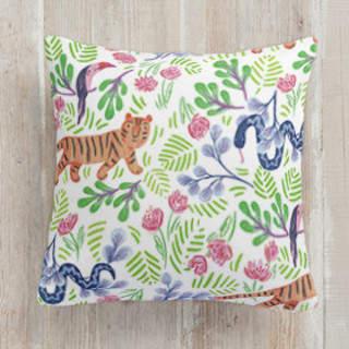 Jungle Fun Square Pillow