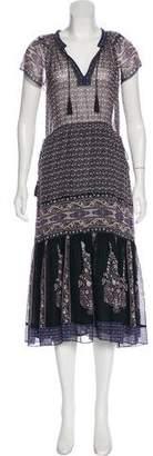 Ulla Johnson Midi Print Dress
