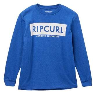 Rip Curl Heathered Long Sleeve Tee (Big Boys)