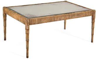 John-Richard Collection Spencer Coffee Table - Antiqued Gilded Gold