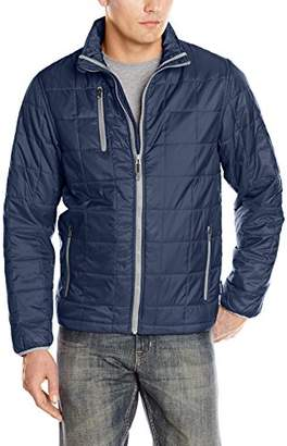Charles River Apparel Men's Lithium Quilted Packable Jacket