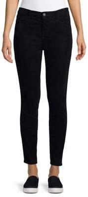 J Brand Alana High Waist Crop Corduroy Jeans