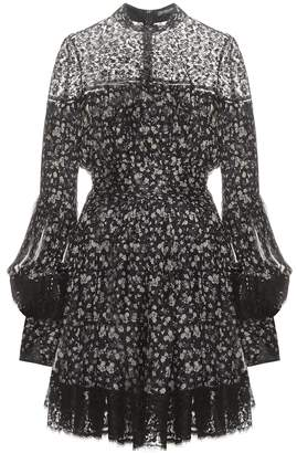 Alexander McQueen Printed silk dress