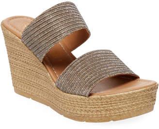 Seychelles Two-Strap Wedge Sandal