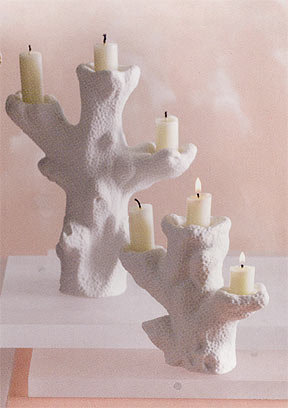 Roost Coral Candleholder