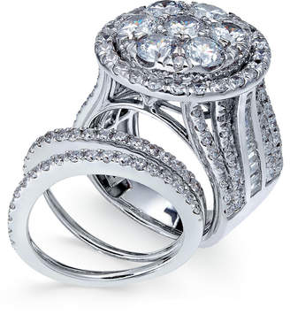 Macy's Diamond Bridal Set (6 ct. t.w.) in 14k White Gold