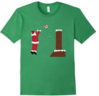 Santa Claus Basketball T Shirt