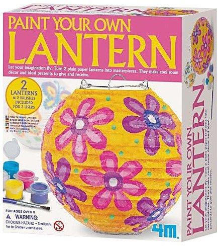 Toysmith 4M Paint Your Own Lantern