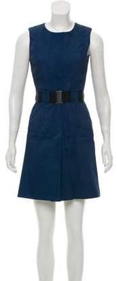 Victoria Beckham A-Line Denim Dress