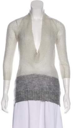 VPL Knit Long Sleeve Sweatshirt