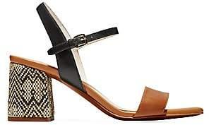 Cole Haan Women's Josie Block-Heel Leather Sandals