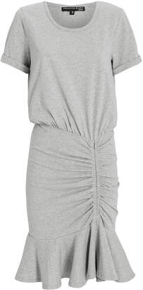 Veronica Beard Pima Ruched Mini Dress