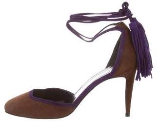 Pierre Hardy Bicolor Suede Pumps