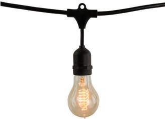 Bulbrite Black String Lights 10 Bulb