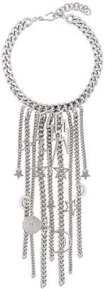 Balmain lightning necklace