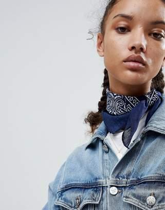 Asos DESIGN Paisley Bandana Print Neckerchief/Headscarf