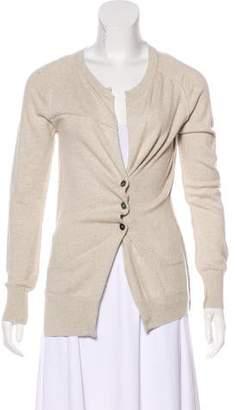 Etoile Isabel Marant Long Sleeve V-Neck Cardigan