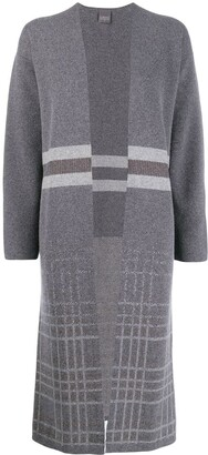 Lorena Antoniazzi knitted long cardigan