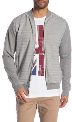 Ben Sherman Horizontal Textured Stripe Jacket