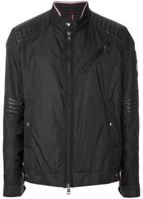 Moncler ribbed panel lightweight jacket