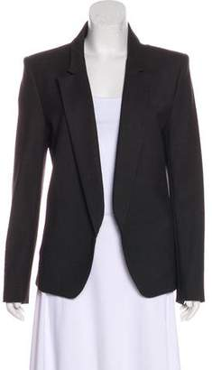 Theyskens' Theory Wool Notch-Lapel Blazer