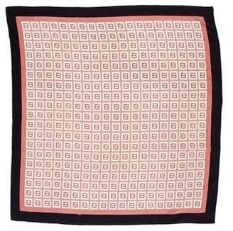 Fendi Printed Silk Scarf