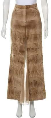 J. Mendel Embellished Maxi Skirt