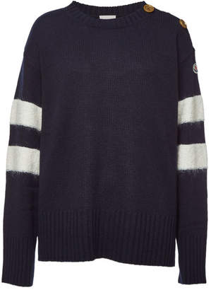 Moncler Pullover in Wool, Cashmere and Mohair