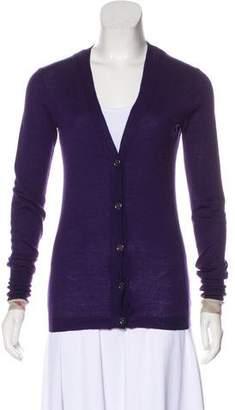 Burberry Wool Knit Cardigan