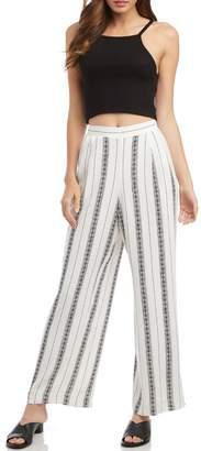 Fifteen-Twenty Fifteen Twenty Floral Striped Pants