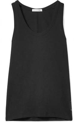 Rag & Bone Slub Pima Cotton-jersey Tank - Black