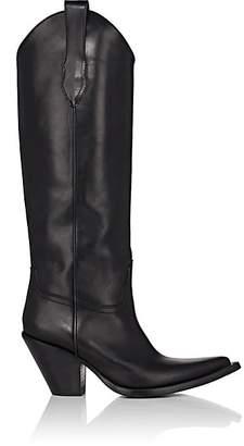 Maison Margiela Women's Mexas Leather Western Boots - Black