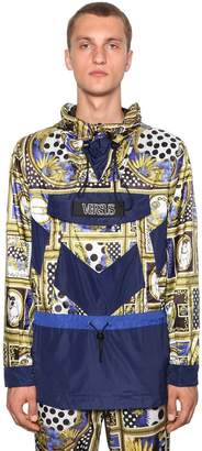 Versace Hooded Heritage Printed Jacket