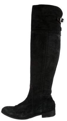 Charles David Suede Knee-High Boots