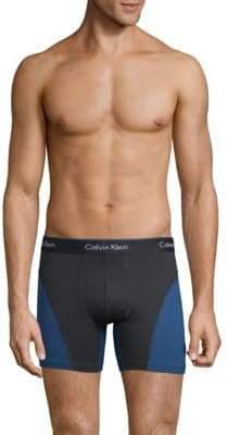 Calvin Klein Underwear Colorblocked Logo Boxer Brief