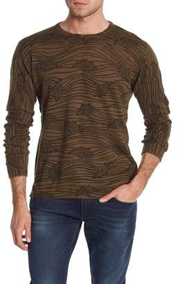 Scotch & Soda All Over Printed Crew Neck Pullover