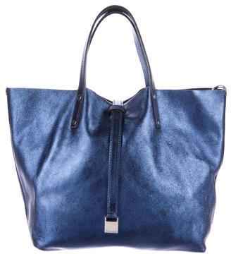 Tiffany & Co. Metallic Reverisble Tote $300 thestylecure.com