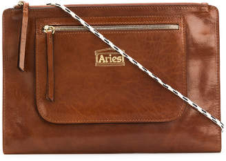 Aries logo patch clutch