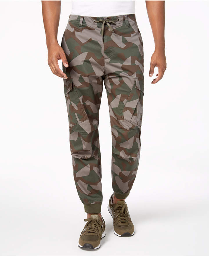 AX Armani Exchange Men's Camo Cargo Pants