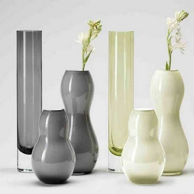 Elodie Vase Grey Large