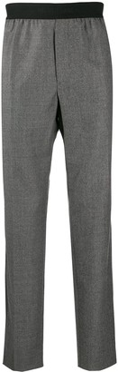 Helmut Lang elasticated waistband tailored trousers